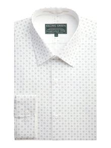 Racing Green Selwyn Print Formal Shirt