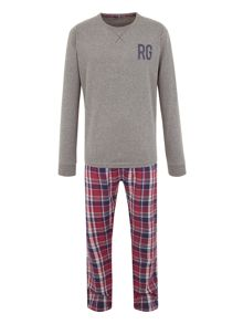Frank Check Loungewear Set