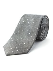 Racing Green Boston Spot Design Tie