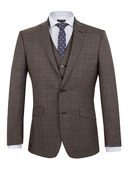 Hague Heritage Check Suit Jacket