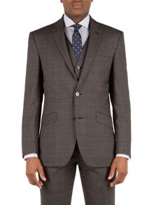 Racing Green Hague Heritage Check Suit Jacket