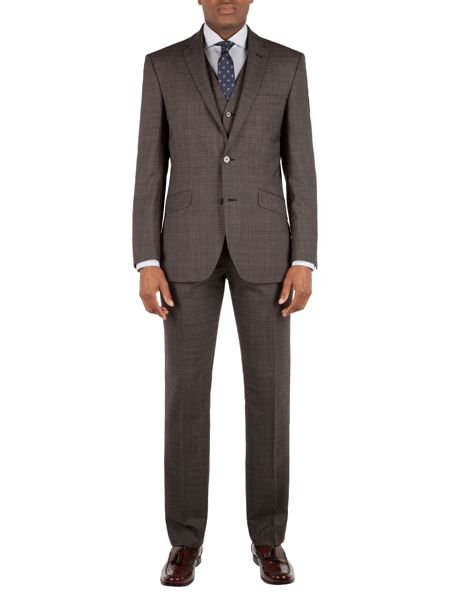 Racing Green Hague Heritage Check Suit Trouser