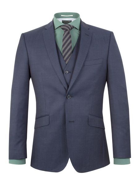 Racing Green Bentley Pindot Suit Jacket
