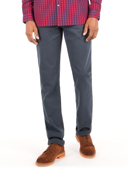Racing Green Dene Overdyed Straight Fit Jean