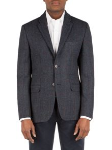 Wool Check Formal Jacket