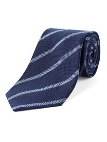 Alexandre of England Silk Stripe Tie