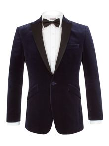 Alexandre of England Velvet peak lapel Jacket