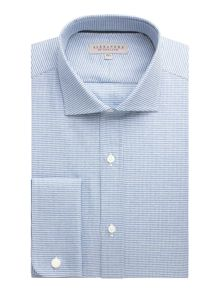 Alexandre of England Cotton Puppytooth Tailored Shirt