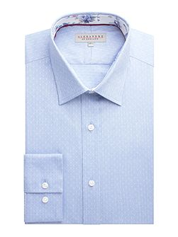 Cotton Dot Tailored Shirt