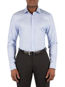 Alexandre of England Cotton Textured Tailored Shirt