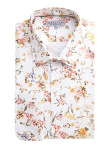 Alexandre of England Autumn Floral Tailored Shirt