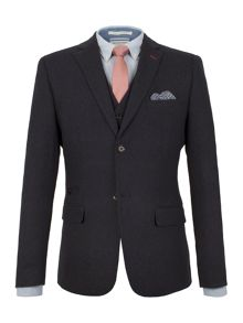 Racing Green Louis textured blazer
