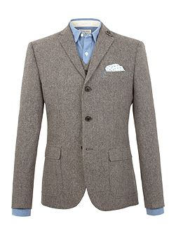 Jose semi plain nep blazer
