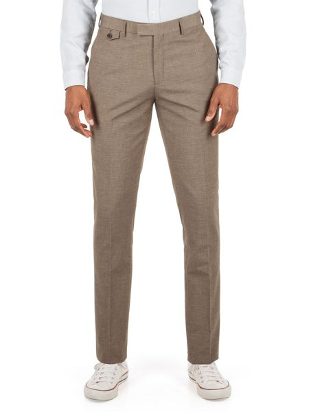Racing Green Andres puppytooth trousers