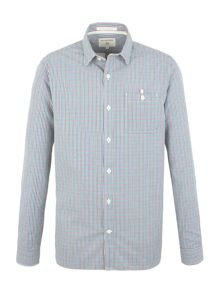 Racing Green Treaty multi check shirt