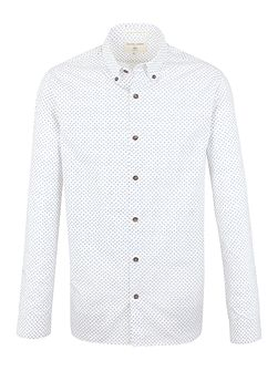 Hopkins scribble print shirt