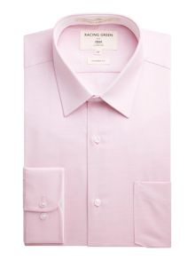 Racing Green Jones textured formal shirt