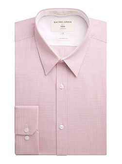 Nelson micro check formal shirt