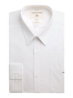 Kennedy all over print formal shirt