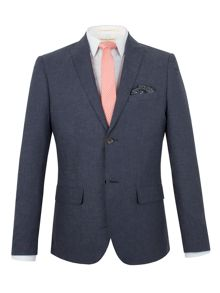 Racing Green Franco semi plain blazer