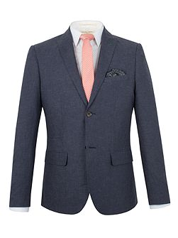 Franco semi plain blazer