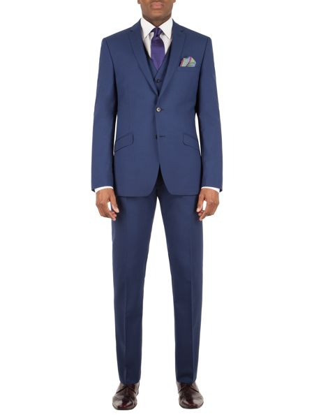 Alexandre of England Bromley panama slim fit trouser