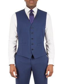 Alexandre of England Bromley panama slim fit waistcoat