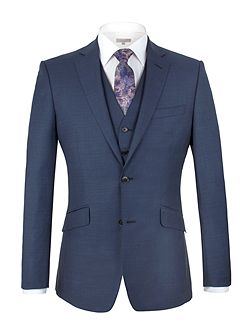 Brunswick tailored fit sharkskin jacket