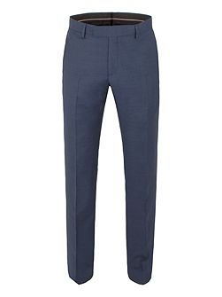 Brunswick tailored fit sharkskin trouser