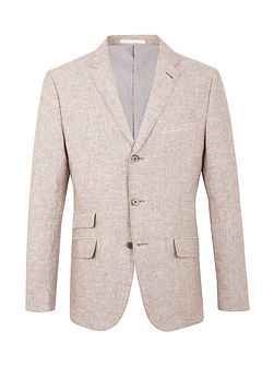 Men's Racing Green Farley linen blazer