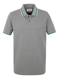 Clement tipped pique polo