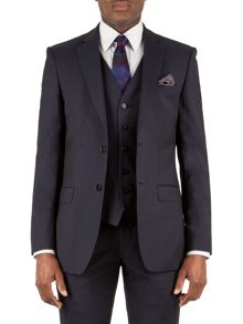 Alexandre of England Markham navy panama tailored fit jacket