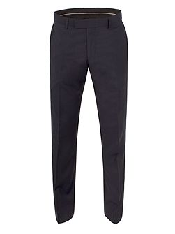 Markham navy panama tailored fit trouser