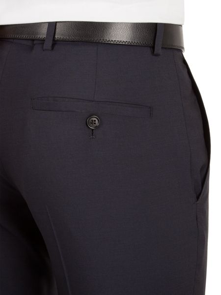 Alexandre of England Markham navy panama tailored fit trouser