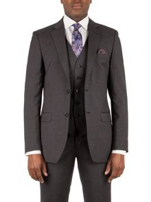 Alexandre of England Markham charcoal panama tailored jacket