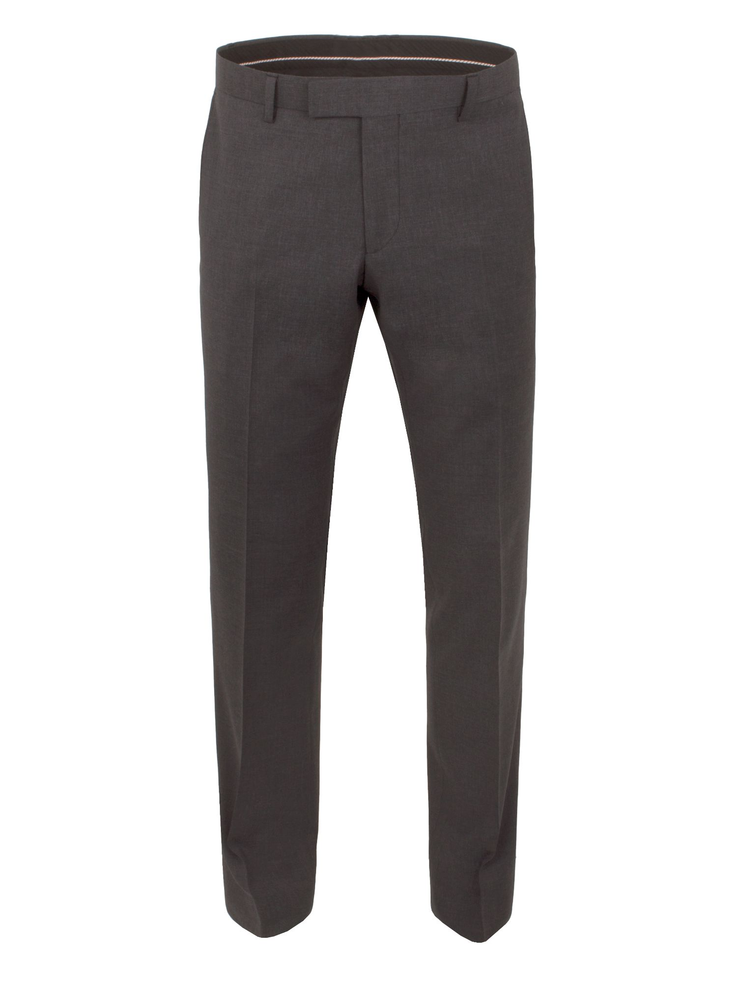 Mens Alexandre of England Markham charcoal panama tailored trouser Charcoal