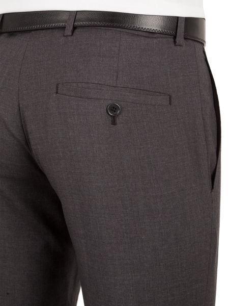 Alexandre of England Markham charcoal panama tailored trouser
