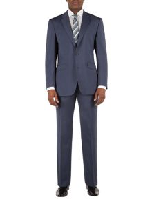 Aston & Gunn Farnley airforce plain suit