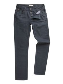 Racing Green Dene straight fit over-dye jean