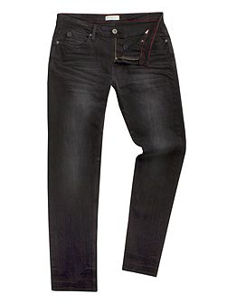 Marr slim fit black jean