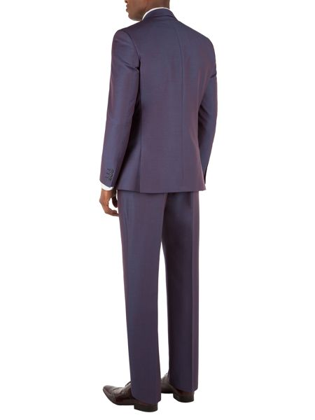 Aston & Gunn Armitage purple mohair suit