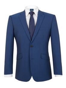Badsworth royal blue stripe suit