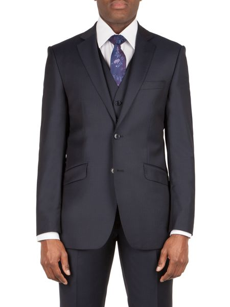 Alexandre of England Bedford  stripe tailored jacket