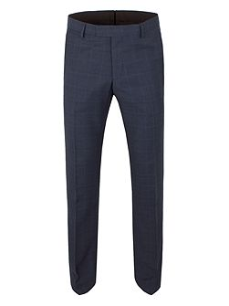 Wilson tonal check slim fit trouser