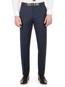 Limehaus Wilson tonal check slim fit trouser