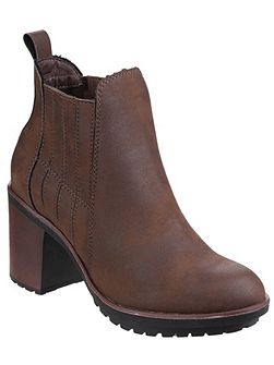 Raegan gusset ankle boots
