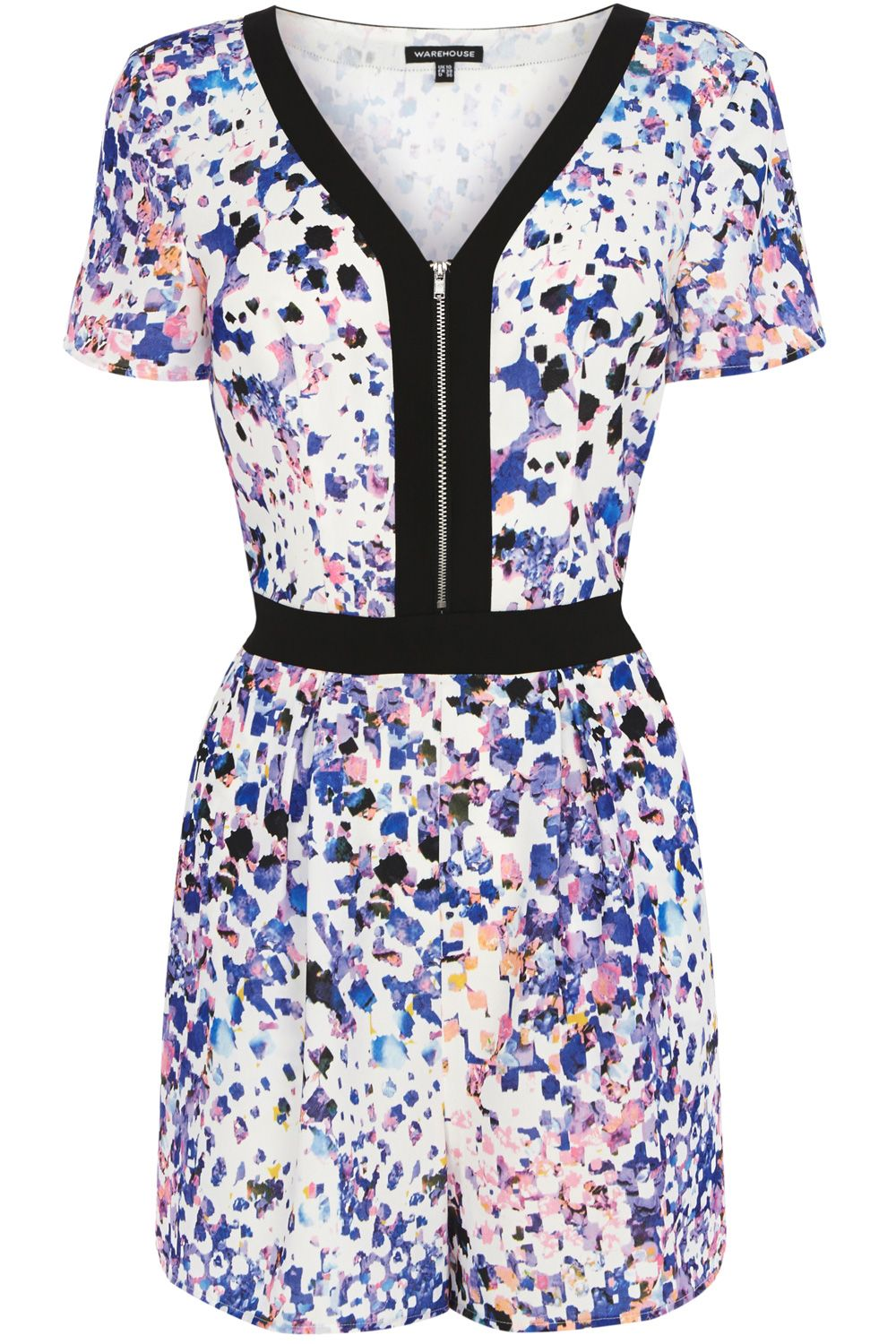 Dapple print playsuit
