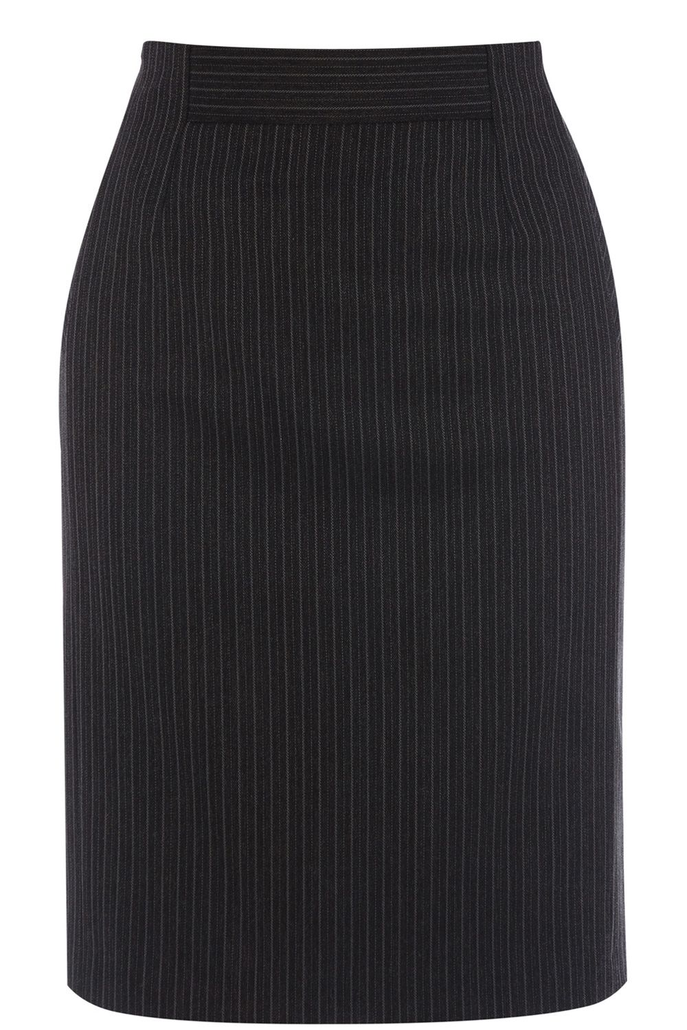 Multi pinstripe skirt