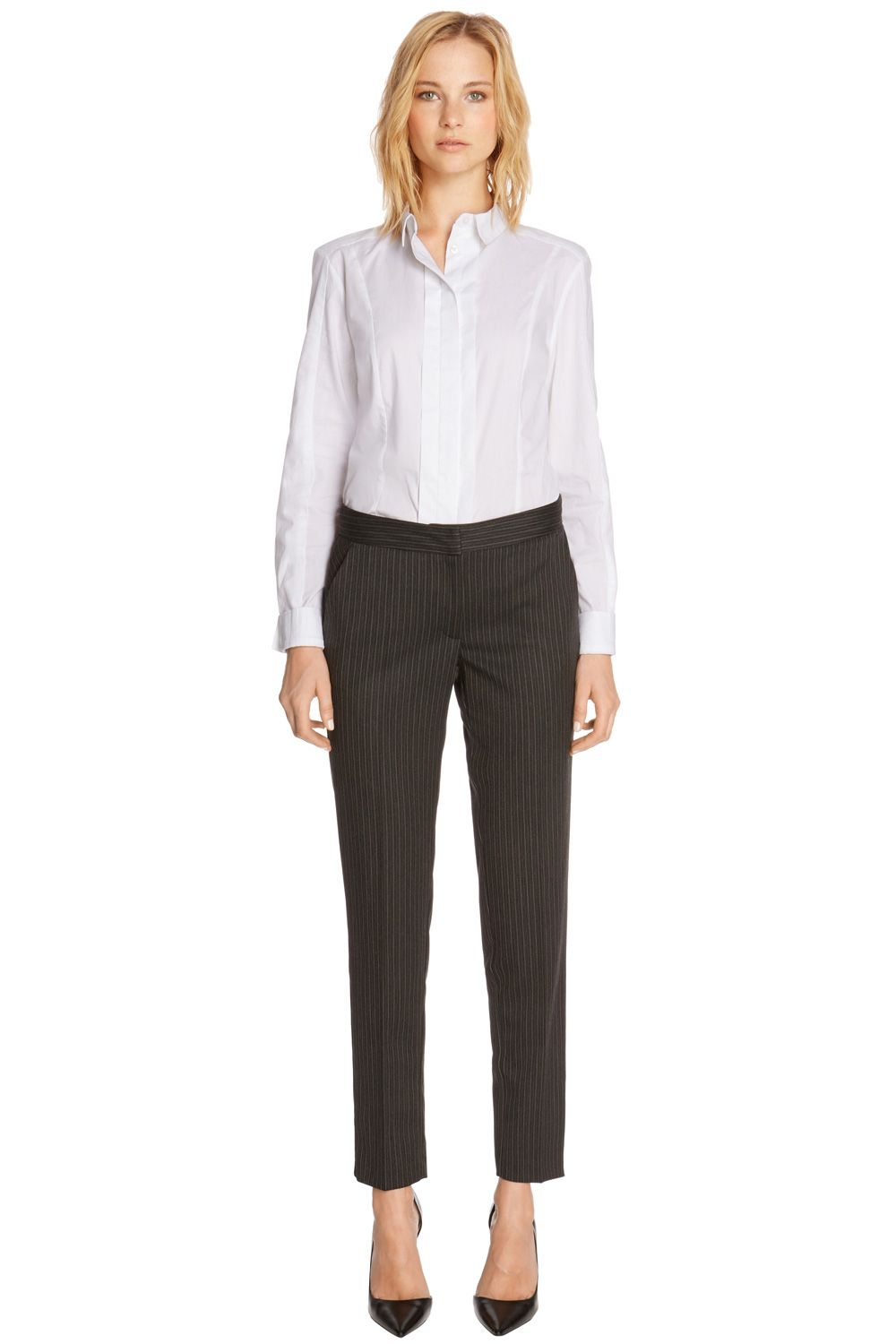 Multi pinstripe trousers
