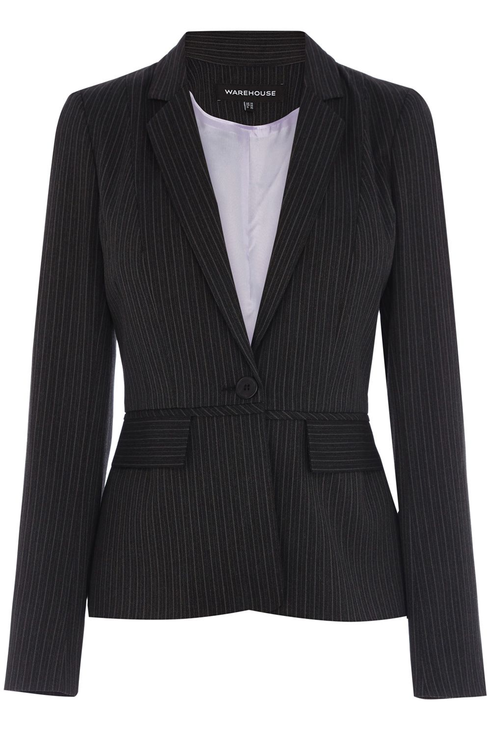 Multi pinstripe jacket